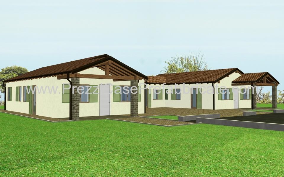 case in prefabbricate costruzione legno prefabbricata