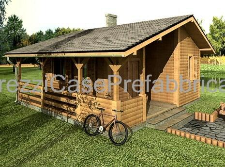 Case prefabbricate blockhaus terminali antivento per for Case legno prezzi chiavi mano