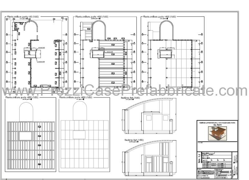 Case prefabbricate in legno bioedilizia a risparmio energetico for Progetti di case prefabbricate