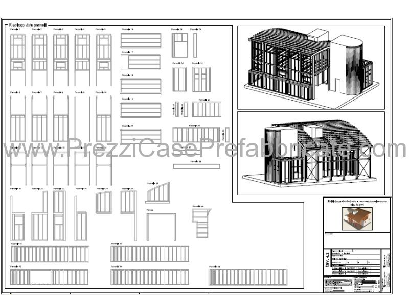 Assez capannoni prefabbricati in legno edilizia pubblica e privata VL34