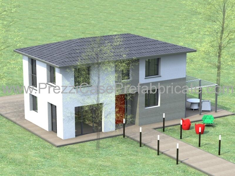 Case prefabbricate case in legno ecologiche efutura design for Casa a 2 piani in vendita