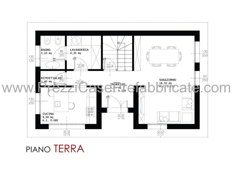Case prefabbricate case in legno ecologiche efutura design for Piano casa piano terra