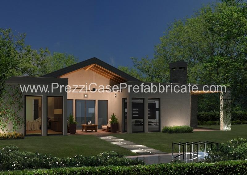 Casa prefabbricata casa passiva casalegno legno lamellare for Moderna casa a 2 piani