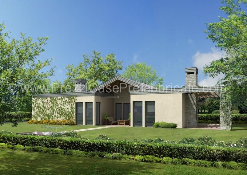 Casa prefabbricata casa passiva casalegno legno lamellare for Progetti di portico anteriore