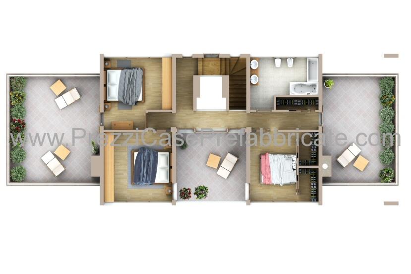 Case prefabbricate case passive case moderne casalegno for Villa moderna progetto