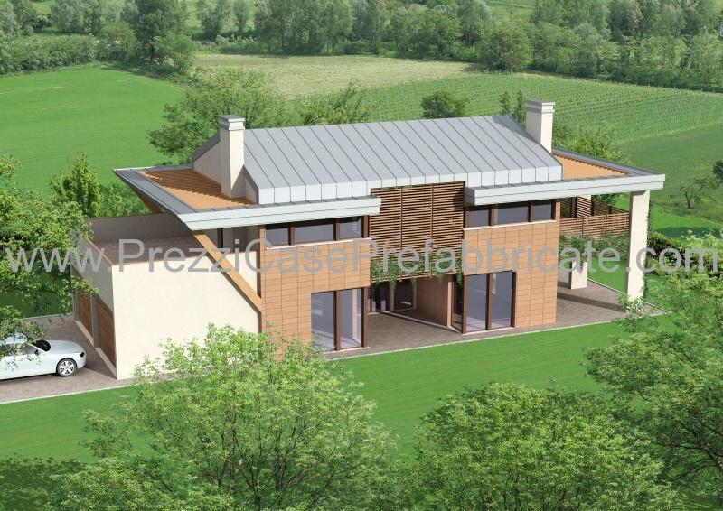 Case prefabbricate case passive case moderne casalegno for Piani porta garage gratuiti