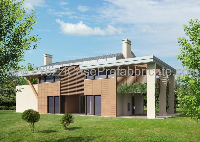 Casa prefabbricata legno casaclima case ecologiche for Piani di costruzione casa moderna