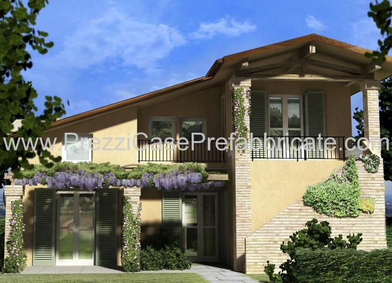Ville prefabbricate casalegno casaclima casa passiva for Quanto costa una casa a due piani